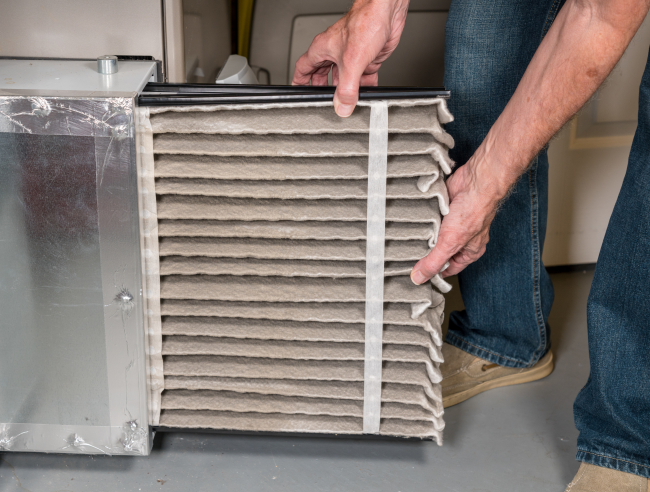 Replacing the filter in your Corydon home can cut back on furnace repair costs.